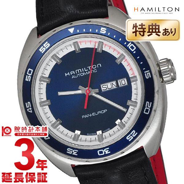 【エントリーでポイントアップ!11日1:59まで!】 HAMILTON [海外輸入品] ハミルトン 腕時計 パンユーロ H35405741 メンズ 時計