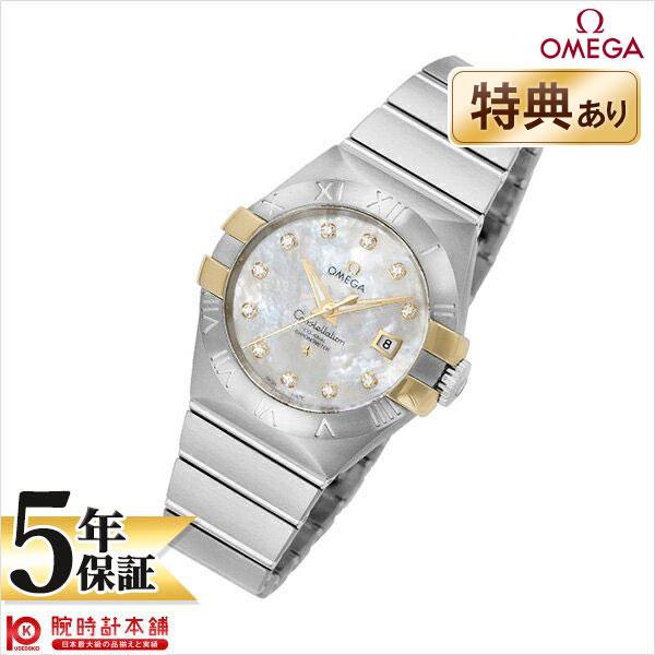 【エントリーでポイントアップ!11日1:59まで!】 OMEGA [海外輸入品] オメガ コンステレーション 123.20.31.20.55.004 レディース 腕時計 時計