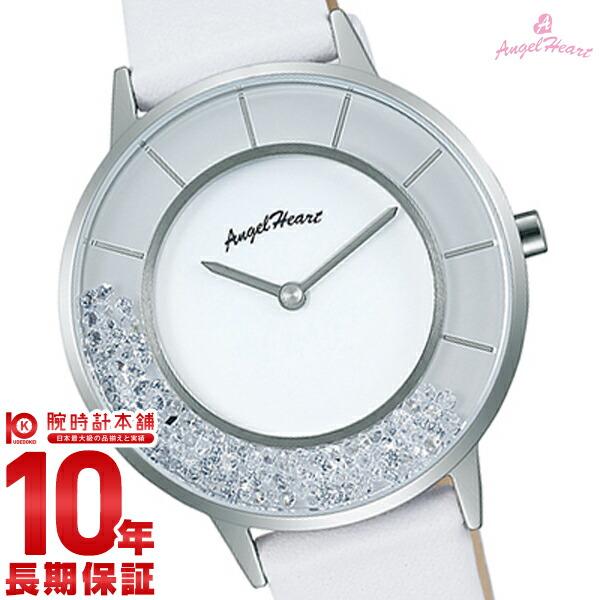【先着限定最大3000円OFFクーポン!6日9:59まで】 エンジェルハート AngelHeart ラブグリッター 替えバンド2本付 限定1000本 ジルコニア LG36S-WH [正規品] レディース 腕時計 時計