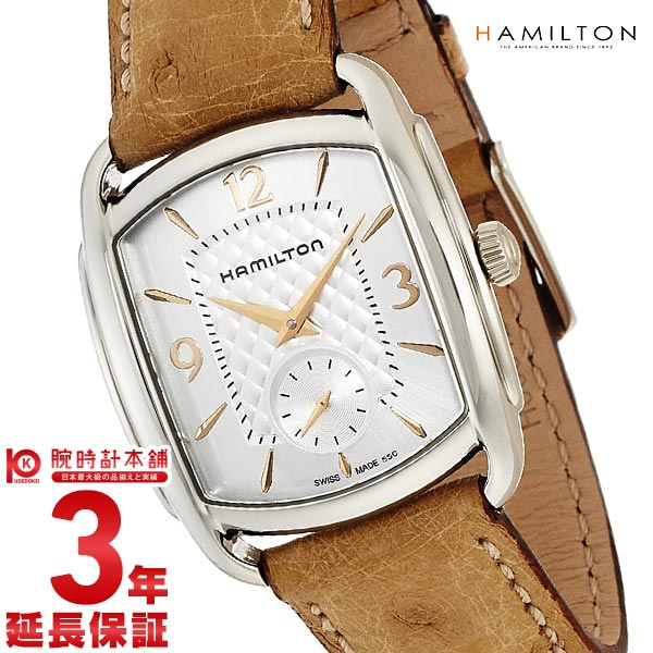 HAMILTON [海外輸入品] ハミルトン 腕時計 バグリー H12451855 メンズ&レディース 時計