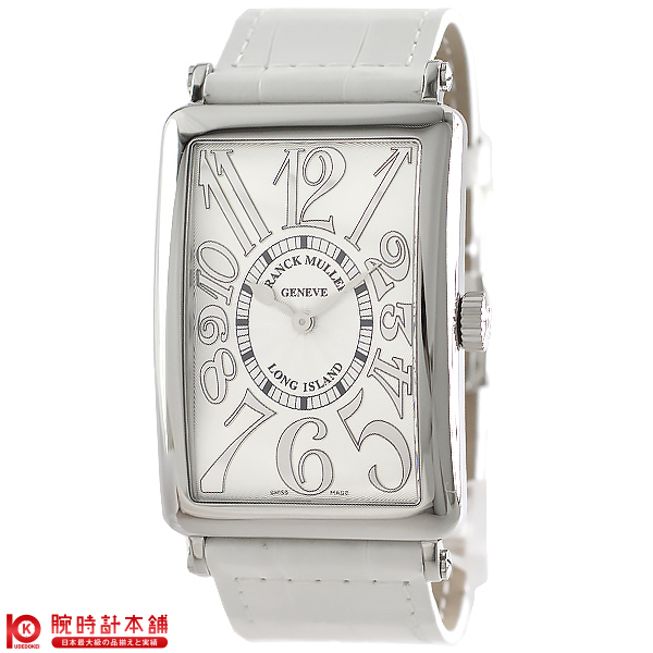 【保障できる】 FRANCKMULLER [海外輸入品] フランクミュラー ロングアイランド ロングアイランド 1002 QZ SS 銀RE/白革 レディース 腕時計 時計【新作】, 毛糸のプロショップ ポプラ 6631920c