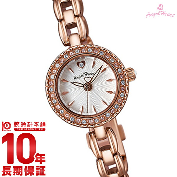 【先着限定最大3000円OFFクーポン!6日9:59まで】 エンジェルハート AngelHeart Eternal Crystal ピンクゴールド スワロフスキーエレメンツ ET21PS [正規品] レディース 腕時計 時計
