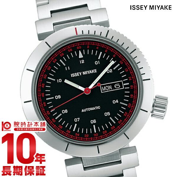 イッセイミヤケ ISSEYMIYAKE 自動巻き腕時計Wダブリュ和田智デザイン NYAE001 [正規品] メンズ 腕時計 時計【36回金利0%】