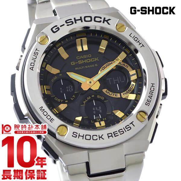 【最安値挑戦中】G-SHOCK 腕時計 カシオ 腕時計 Gショック Gスチール ソーラー電波 GST-W110D-1A9JF [正規品] メンズ 腕時計 時計【あす楽】