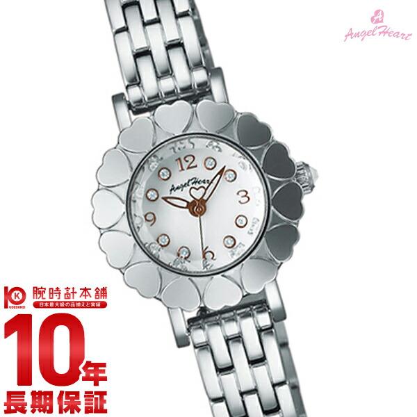 【先着限定最大3000円OFFクーポン!6日9:59まで】 エンジェルハート AngelHeart My Angel ホワイトパール スワロフスキー MA23SW [正規品] レディース 腕時計 時計