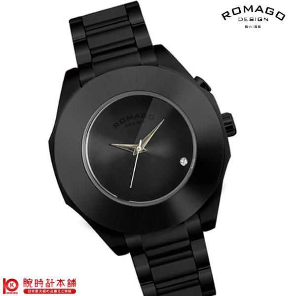 【3000円割引クーポン】ロマゴデザイン ROMAGODESIGN HARMONY ハーモニー RM003-1513SS-BK [正規品] メンズ&レディース 腕時計 時計