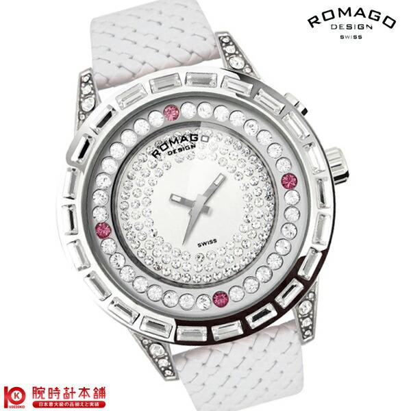 【先着限定最大3000円OFFクーポン!6日9:59まで】 ロマゴデザイン ROMAGODESIGN DAZZLE ダズル RM006-1477SV-WH [正規品] メンズ&レディース 腕時計 時計