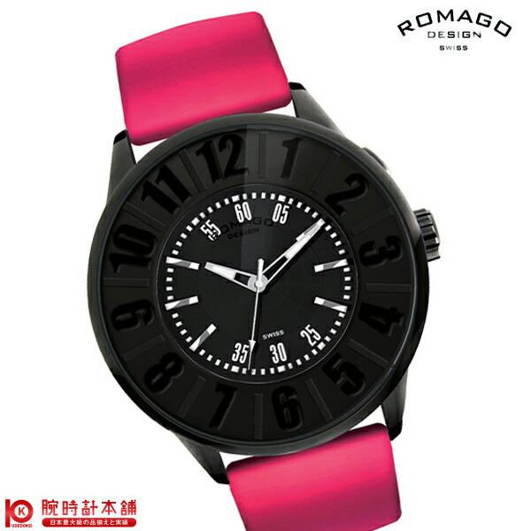 【先着限定最大3000円OFFクーポン!6日9:59まで】 ロマゴデザイン ROMAGODESIGN Numeration series (ヌメレーションシリーズ) RM007-0053ST-LUBK [正規品] メンズ&レディース 腕時計 時計