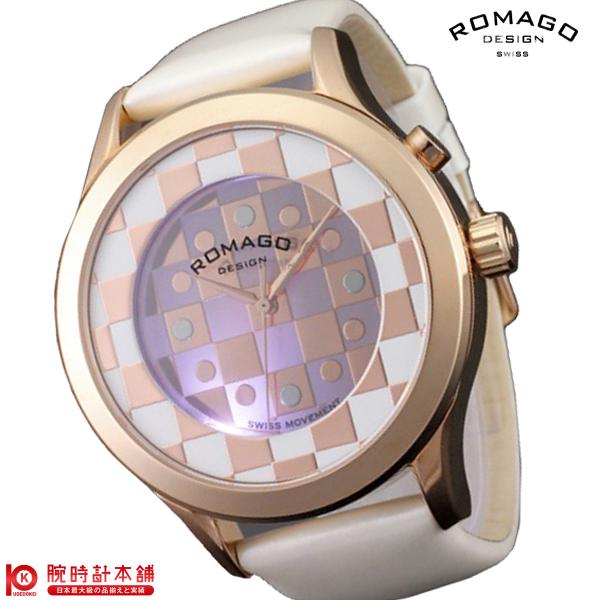 【3000円割引クーポン】ロマゴデザイン ROMAGODESIGN FASHIONCODE ファッションコード RM052-0314ST-RGWH [正規品] メンズ&レディース 腕時計 時計