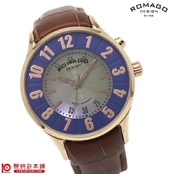ロマゴデザイン ROMAGODESIGN NUMERATION ヌメレーション RM068-0053ST-RGBR [正規品] メンズ&レディース 腕時計 時計