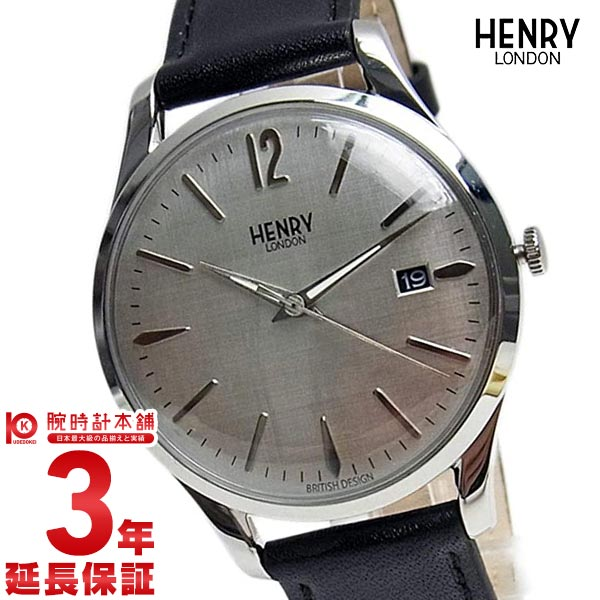 【先着限定最大3000円OFFクーポン!6日9:59まで】 HENRY LONDON [海外輸入品] ヘンリーロンドン ピカデリー HL39-S-0075 メンズ&レディース 腕時計 時計【新作】