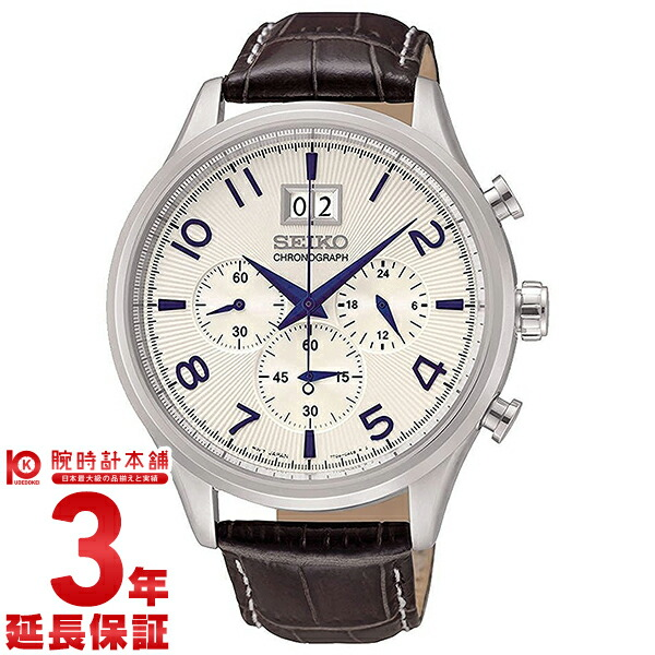 CHRONOGRAPH [海外輸入品] セイコー 逆輸入モデル クロノグラフ  SPC155P1 メンズ 腕時計 時計【新作】