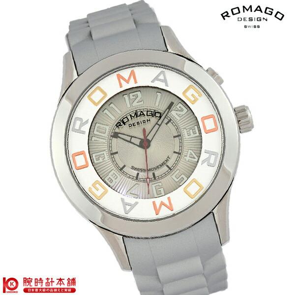 【先着限定最大3000円OFFクーポン!6日9:59まで】 ロマゴデザイン ROMAGODESIGN RM015-0162PL-SVSV [正規品] メンズ&レディース 腕時計 時計