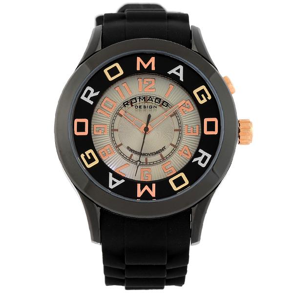 【2000円割引クーポン】ロマゴデザイン ROMAGODESIGN  RM015-0162PL-BKBK [正規品] メンズ&レディース 腕時計 時計【あす楽】