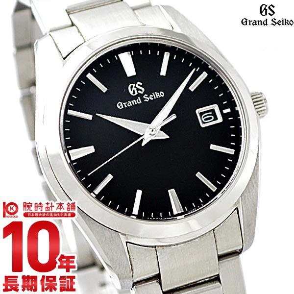 セイコー グランドセイコー GRANDSEIKO 9Fクオーツ 10気圧防水 ブラック SBGX261 [正規品] メンズ 腕時計 時計【36回金利0%】【あす楽】