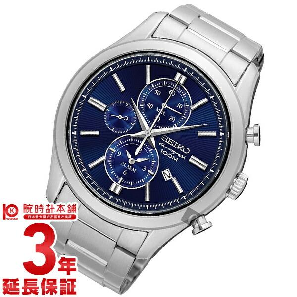 セイコー 腕時計 逆輸入モデル クロノグラフ CHRONOGRAPH SNAF65P1 メンズ 【dl】brand deal15