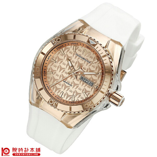 【先着限定最大3000円OFFクーポン!6日9:59まで】 テクノマリーン TechnoMarine 替えベルト・ケースカバー付き TM115001 [輸入品] レディース 腕時計 時計【24回金利0%】
