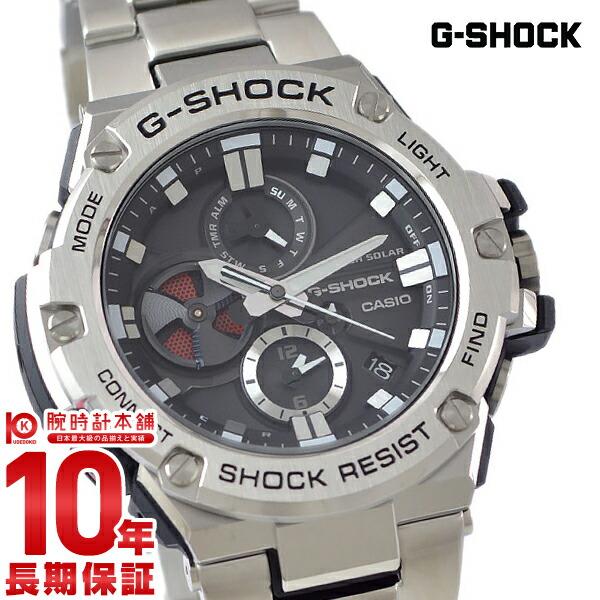 【11日は店内ポイント最大45倍!】【最大2000円OFFクーポン!16日1:59まで】カシオ Gショック G-SHOCK Bluetooth GST-B100D-1AJF [正規品] メンズ 腕時計 時計【24回金利0%】