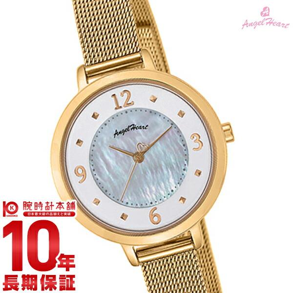 【先着限定最大3000円OFFクーポン!6日9:59まで】 【1000円割引クーポン】 エンジェルハート AngelHeart NudieDrop ND30YG [正規品] レディース 腕時計 時計