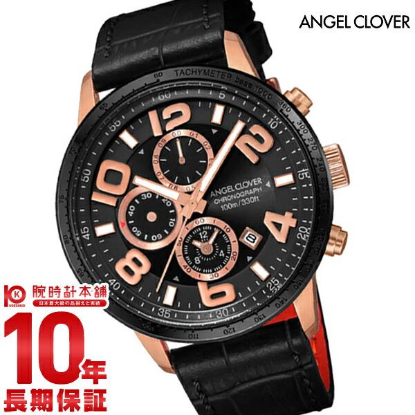 【2000円割引クーポン】 エンジェルクローバー AngelClover ルーチェ LUCE LU44PBK-BK [正規品] メンズ 腕時計 時計