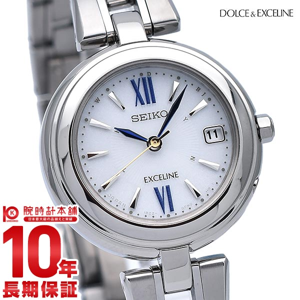 【先着限定最大3000円OFFクーポン!6日9:59まで】 セイコー ドルチェ&エクセリーヌ DOLCE&EXCELINE SWCW131 [正規品] レディース 腕時計 時計【36回金利0%】