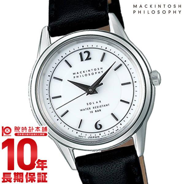 【先着限定最大3000円OFFクーポン!6日9:59まで】 マッキントッシュフィロソフィー MACKINTOSHPHILOSOPHY ソーラー ステンレス FDAD989[正規品] レディース 腕時計 時計
