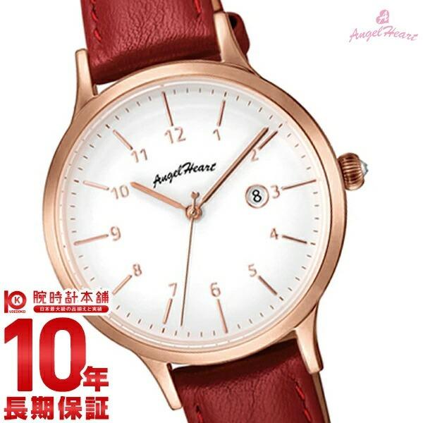 【先着限定最大3000円OFFクーポン!6日9:59まで】 【1000円割引クーポン】 エンジェルハート AngelHeart パステルハート PH32P-RD [正規品] レディース 腕時計 時計