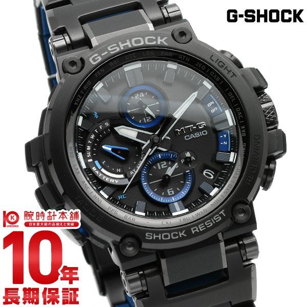 カシオ Gショック G-SHOCK Bluetooth搭載 ソーラー MTG-B1000BD-1AJF メンズ(予約受付中)