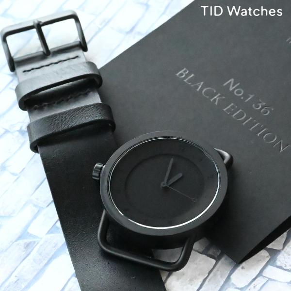 【先着限定最大3000円OFFクーポン!6日9:59まで】 【店内最大ポイント42倍!9日9:59まで】 ティッドウォッチ TID Watches TID01-36blackedition ユニセックス