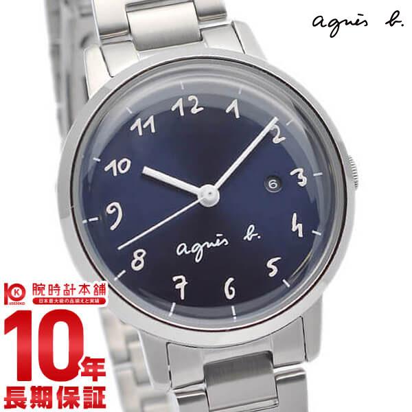 【エントリー&買い周りでさらに10倍!21日20時~】 アニエスベー agnes b. ペアモデル マルチェロ Marcello FCSK934 腕時計 レディース ネイビー 時計