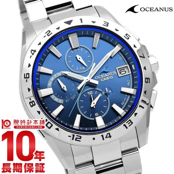 カシオ オシアナス OCEANUS Bluetooth 電波ソーラー OCW-T3000-2AJF メンズ