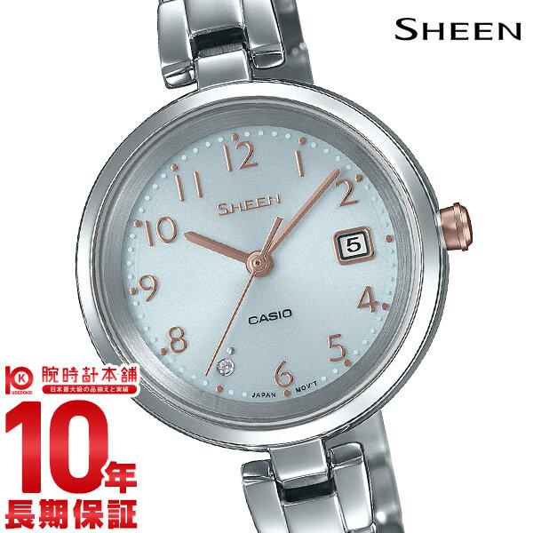 カシオ シーン SHEEN ソーラー SHS-D200D-7AJF レディース