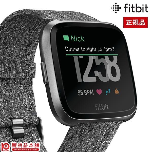 フィットビット Fitbit Versa FB505BKGY-CJK ユニセックス 時計