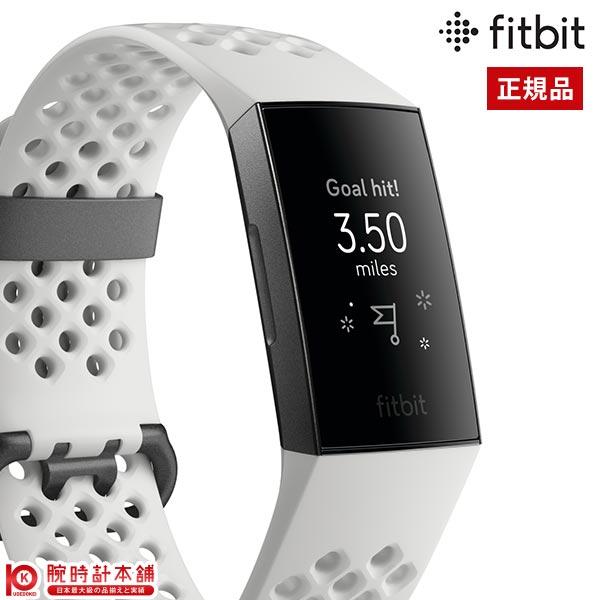 フィットビット Fitbit Charge 3 FB410GMWT-CJK ユニセックス 時計