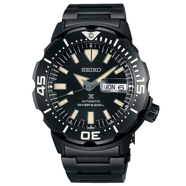 セイコー プロスペックス SEIKO PROSPEX 流通限定モデル ダイバーズウォッチ メカニカル 自動巻き 腕時計 メンズ モンスター MONSTER SBDY037  ブラック 時計 【あす楽】
