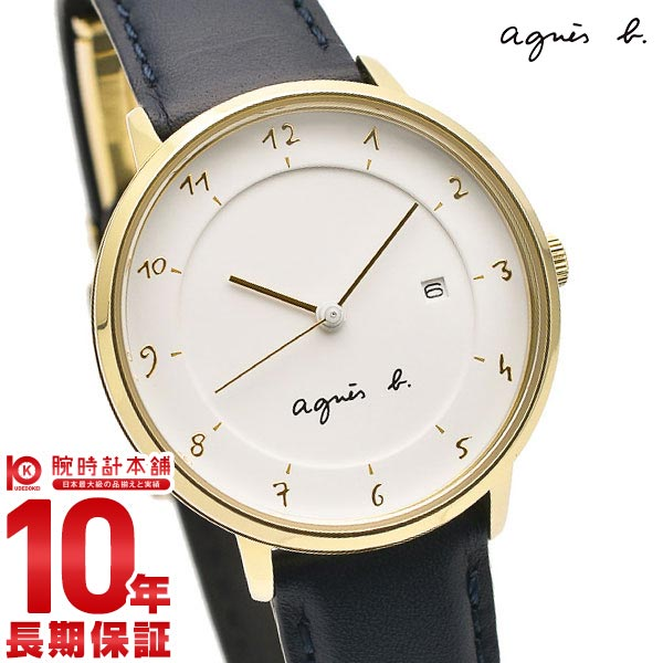 【最大2000円OFFクーポン&店内最大ポイント48倍!】 アニエスベー 時計 レディース マルチェロ ホワイト FBSK943 agnes b. 腕時計 革ベルト Marcello