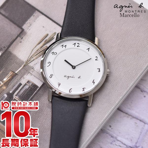 【先着限定最大3000円OFFクーポン!6日9:59まで】 アニエスベー 時計 レディース マルチェロ FCSK930 agnes b. ペア Marcello 腕時計 革ベルト