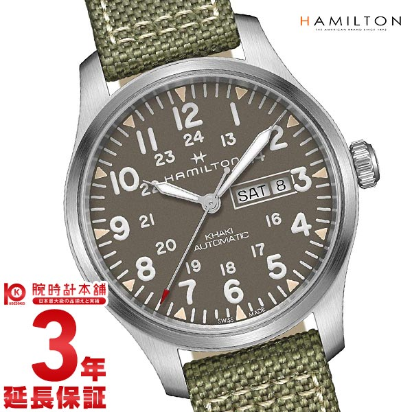 ハミルトン カーキ HAMILTON カーキフィールド デイデイト H70535081 メンズ