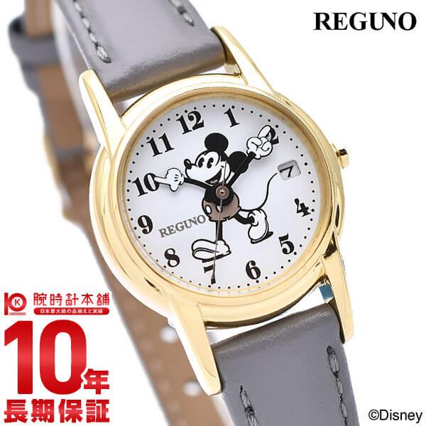 【先着限定最大3000円OFFクーポン!6日9:59まで】 シチズン レグノ Disneyコレクション 「ミッキーマウス」レディース ソーラーテック 腕時計 KP7-126-10 CITIZEN ディズニー 時計