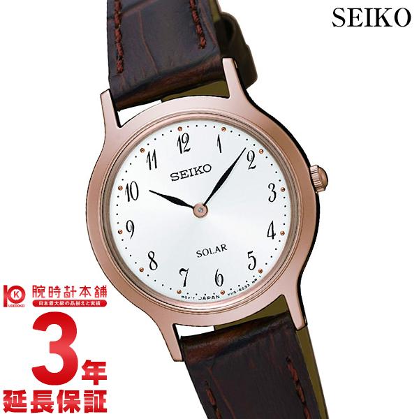 【先着限定最大3000円OFFクーポン!6日9:59まで】 セイコー 逆輸入モデル SEIKO SUP372P1 レディース