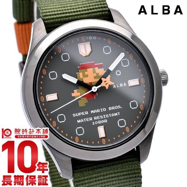 セイコー アルバ ALBA スーパーマリオコラボレーションウオッチ ACCK424 メンズ2019/09/20【あす楽】