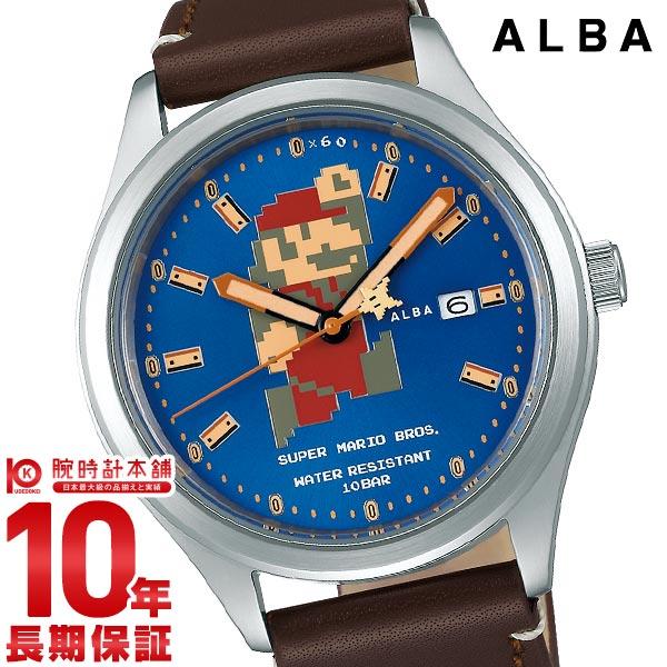 セイコー アルバ ALBA スーパーマリオコラボレーションウオッチ ACCA401 メンズ2019/09/20【あす楽】