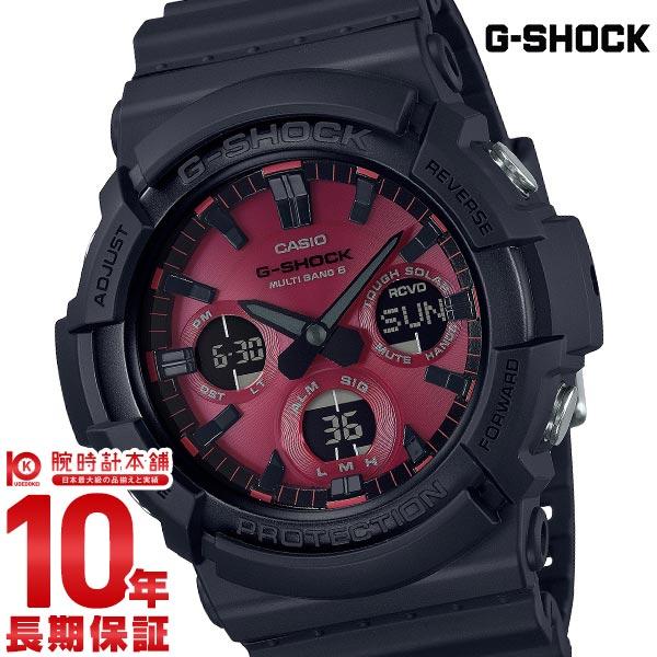 カシオ Gショック G-SHOCK Black and Red Series GAW-100AR-1AJF メンズ【あす楽】