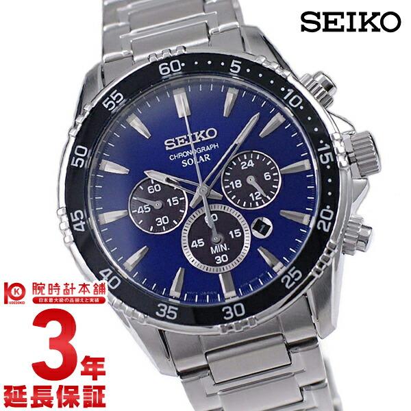 セイコー 逆輸入モデル SEIKO ソーラー SSC445P1 メンズ
