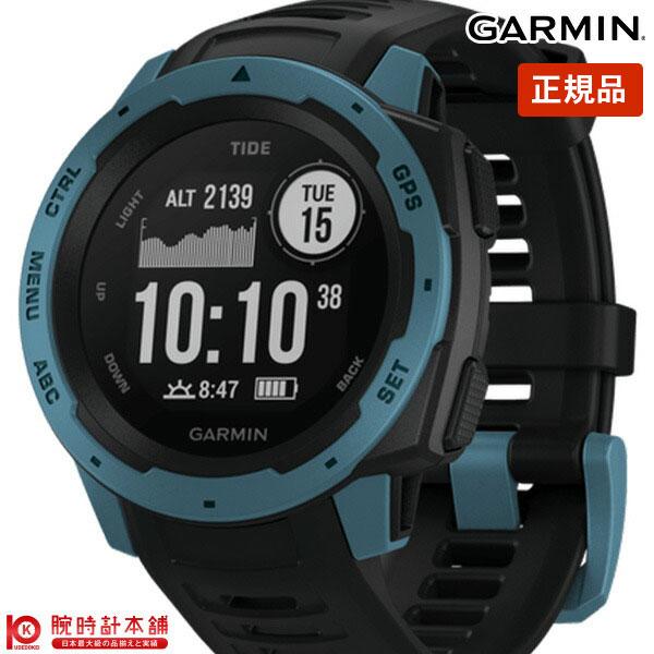 ガーミン GARMIN Instinct Tide Black/Blue 010-02064-B2 メンズ