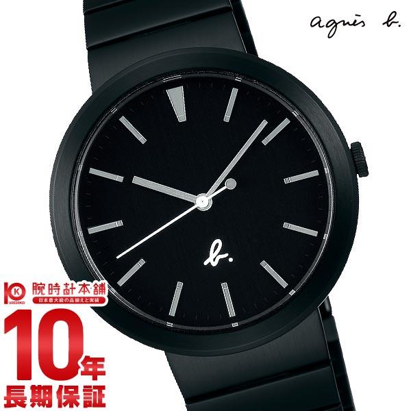 アニエスベー 時計 メンズ agnes b. 腕時計 FCRK985 ブラック ステンレス 防水