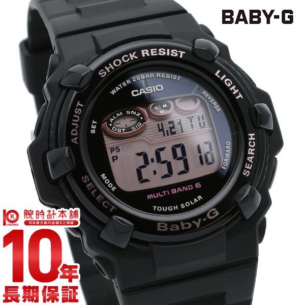 【先着限定最大3000円OFFクーポン!6日9:59まで】 BABY-G 電波 ソーラー レディース デジタル ブラック ベビーG Cherry Blossom Colors BGR-3000CB-1JF カシオ CASIO 腕時計 時計