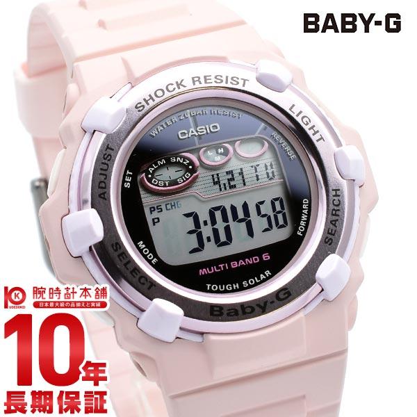 【先着限定最大3000円OFFクーポン!6日9:59まで】 BABY-G 電波 ソーラー レディース デジタル ピンク ベビーG Cherry Blossom Colors BGR-3000CB-4JF カシオ CASIO 腕時計 時計