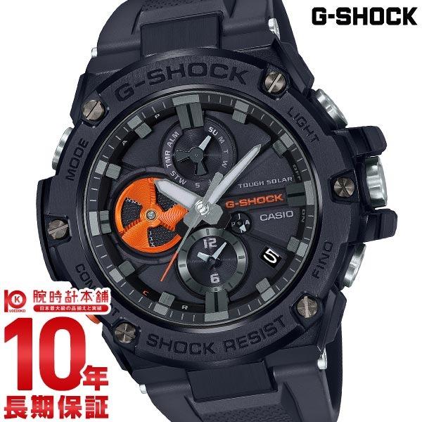 G-SHOCK Gショック 電波 ソーラー ブラック アナログ メンズ タフソーラー G-STEEL GST-B100B-1A4JF モバイルリンク カシオ 腕時計 時計 ジーショック CASIO