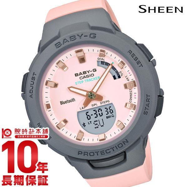 BABY-G レディース アナデジ ベビーG BSA-B100MC-4AJF モバイルリンク カシオ 腕時計     【あす楽】